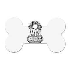 Seal Of Indian State Of Mizoram Dog Tag Bone (one Side) by abbeyz71
