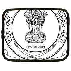 Seal Of Indian State Of Punjab Netbook Case (large) by abbeyz71