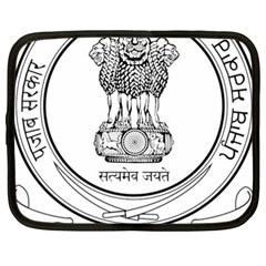 Seal Of Indian State Of Punjab Netbook Case (xxl)  by abbeyz71