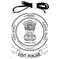 Seal Of Indian State Of Punjab Shoulder Sling Bags by abbeyz71
