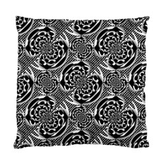 Metallic Mesh Pattern Standard Cushion Case (two Sides) by linceazul