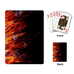 Fire Playing Card by Valentinaart