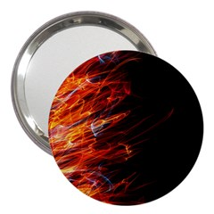 Fire 3  Handbag Mirrors by Valentinaart