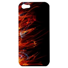 Fire Apple Iphone 5 Hardshell Case by Valentinaart