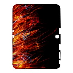 Fire Samsung Galaxy Tab 4 (10 1 ) Hardshell Case  by Valentinaart