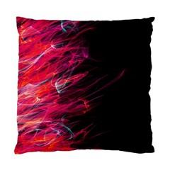 Fire Standard Cushion Case (one Side) by Valentinaart