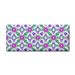 Multicolor Ornate Check Cosmetic Storage Cases by dflcprints