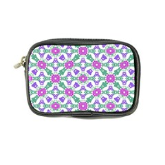 Multicolor Ornate Check Coin Purse by dflcprints