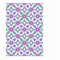 Multicolor Ornate Check Large Garden Flag (two Sides) by dflcprints