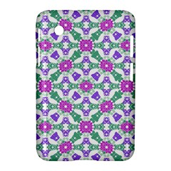 Multicolor Ornate Check Samsung Galaxy Tab 2 (7 ) P3100 Hardshell Case  by dflcprints