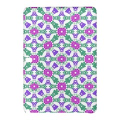 Multicolor Ornate Check Samsung Galaxy Tab Pro 12 2 Hardshell Case by dflcprints
