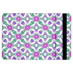 Multicolor Ornate Check Ipad Air Flip by dflcprints