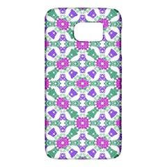 Multicolor Ornate Check Galaxy S6 by dflcprints