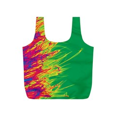 Fire Full Print Recycle Bags (s)  by Valentinaart