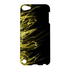 Fire Apple Ipod Touch 5 Hardshell Case by Valentinaart