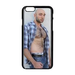 Mike 4432 Apple Iphone 6/6s Black Enamel Case by KorokStudios