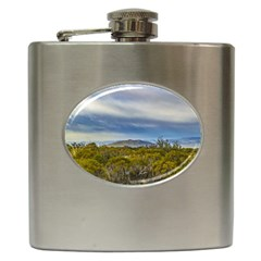 Patagonian Lanscape Scene, Santa Cruz, Argentina Hip Flask (6 Oz) by dflcprints