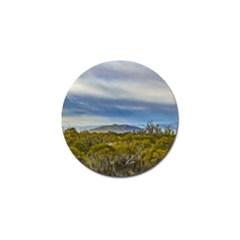 Patagonian Lanscape Scene, Santa Cruz, Argentina Golf Ball Marker by dflcprints