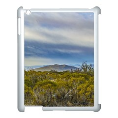 Patagonian Lanscape Scene, Santa Cruz, Argentina Apple Ipad 3/4 Case (white) by dflcprints