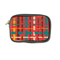 Colorful Line Segments Coin Purse by linceazul