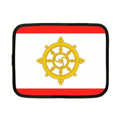 Flag Of Sikkim, 1967 1975 Netbook Case (small)  by abbeyz71