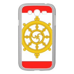 Flag Of Sikkim, 1967 1975 Samsung Galaxy Grand Duos I9082 Case (white) by abbeyz71
