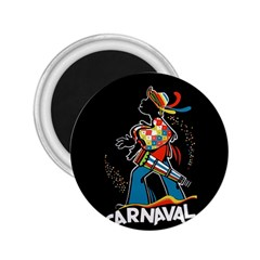 Carnaval  2.25  Magnets by Valentinaart