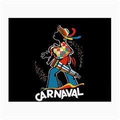 Carnaval  Small Glasses Cloth by Valentinaart