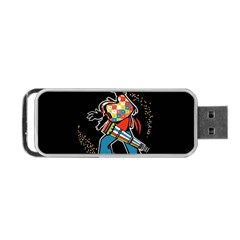Carnaval  Portable Usb Flash (two Sides) by Valentinaart