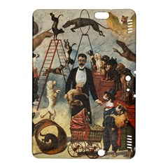 Dog Circus Kindle Fire Hdx 8 9  Hardshell Case by Valentinaart