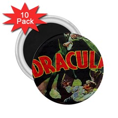 Dracula 2 25  Magnets (10 Pack)  by Valentinaart