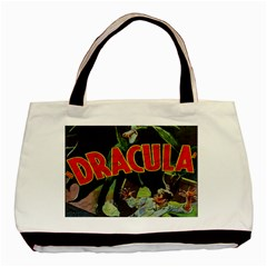 Dracula Basic Tote Bag (two Sides) by Valentinaart