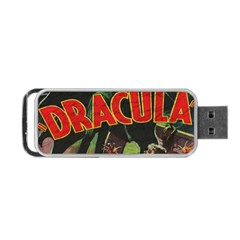 Dracula Portable Usb Flash (two Sides) by Valentinaart