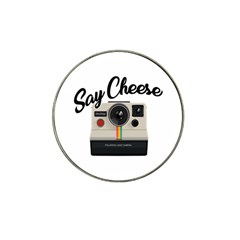 Say Cheese Hat Clip Ball Marker (10 pack) by Valentinaart