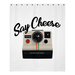 Say Cheese Shower Curtain 60  X 72  (medium)  by Valentinaart
