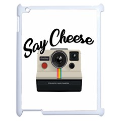 Say Cheese Apple Ipad 2 Case (white) by Valentinaart
