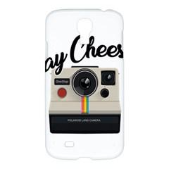 Say Cheese Samsung Galaxy S4 I9500/i9505 Hardshell Case by Valentinaart