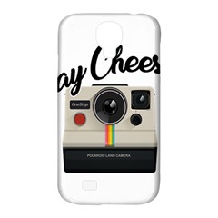 Say Cheese Samsung Galaxy S4 Classic Hardshell Case (pc+silicone) by Valentinaart