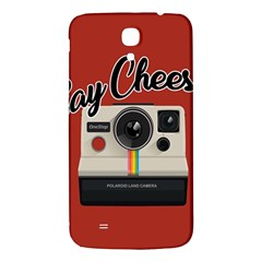 Say Cheese Samsung Galaxy Mega I9200 Hardshell Back Case by Valentinaart