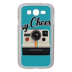 Say Cheese Samsung Galaxy Grand Duos I9082 Case (white) by Valentinaart