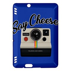 Say Cheese Kindle Fire Hdx Hardshell Case by Valentinaart