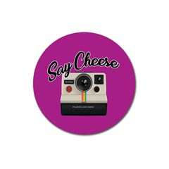 Say Cheese Magnet 3  (round) by Valentinaart