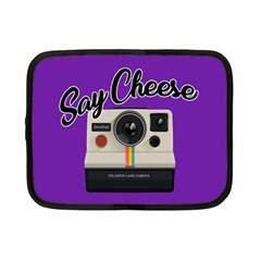 Say Cheese Netbook Case (small)  by Valentinaart