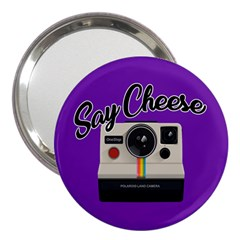 Say Cheese 3  Handbag Mirrors by Valentinaart