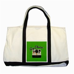 Say Cheese Two Tone Tote Bag by Valentinaart