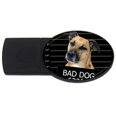 Bed Dog Usb Flash Drive Oval (4 Gb) by Valentinaart