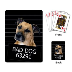 Bed Dog Playing Card by Valentinaart