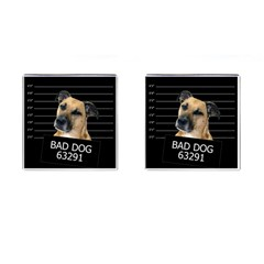 Bed Dog Cufflinks (square) by Valentinaart