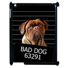 Bed Dog Apple Ipad 2 Case (black) by Valentinaart