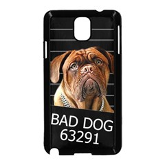 Bed Dog Samsung Galaxy Note 3 Neo Hardshell Case (black) by Valentinaart